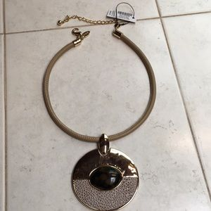 Necklace-Choker with Large Charm